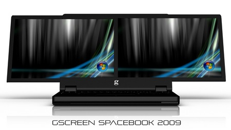 gScreen Spacebook Dual-Screen Notebook 1