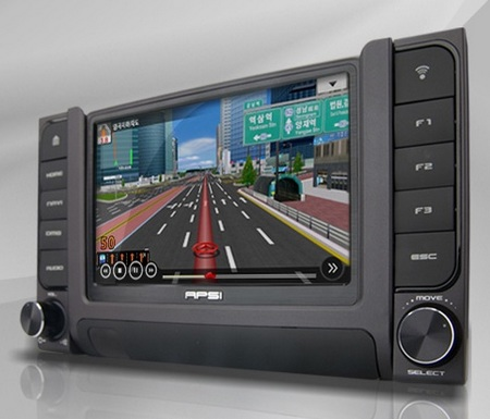 APSI C100 Navigation Device with Slide-out PMP 1