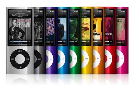 Apple iPod nano 5G gets Camera and FM Radio colors