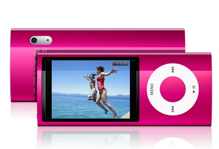 Apple iPod nano 5G gets Camera and FM Radio pink
