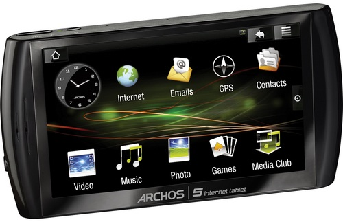 Archos 5 Internet Tablet to get Android