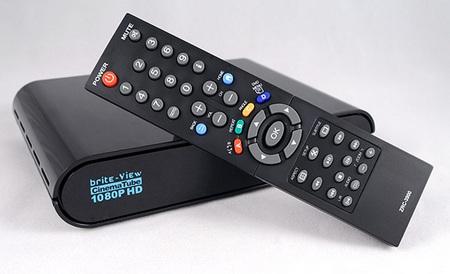 Brite-View CinemaTube 1080p HD Media Player with remote