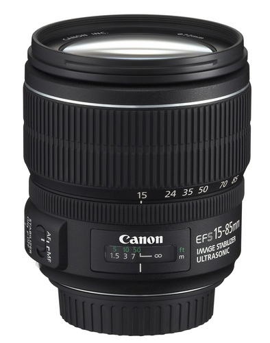 Canon EF-S 15-85mm f-3.5-5.6 IS USM lens