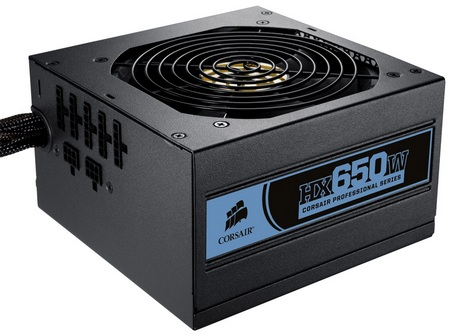 Corsair Professional HX650W modular power supply