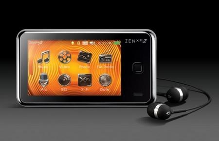 Creative Zen X-Fi2 Touchscreen PMP