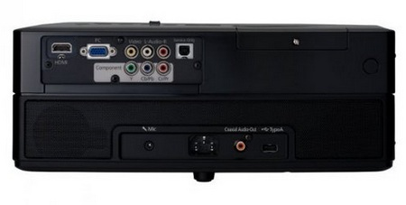Epson EH-DM3 projector with DVD back