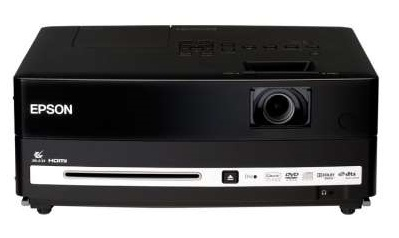 Epson EH-DM3 projector with DVD front