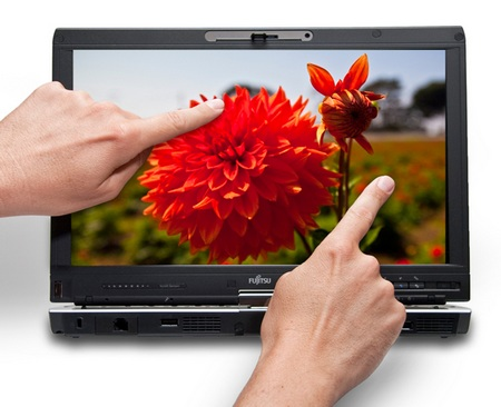 Fujitsu LifeBook T5010 Tablet PC now has multi-touch display