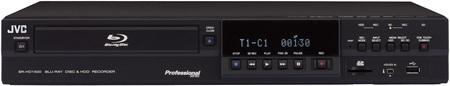JVC SR-HD1500 and SR-HD1250 Blu-ray HDD Recorder Decks