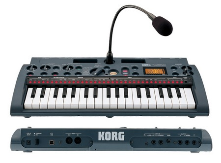 Korg microSAMPLER Sampling Keyboard front