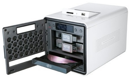 LG N2R1 NAS with DVD Writer