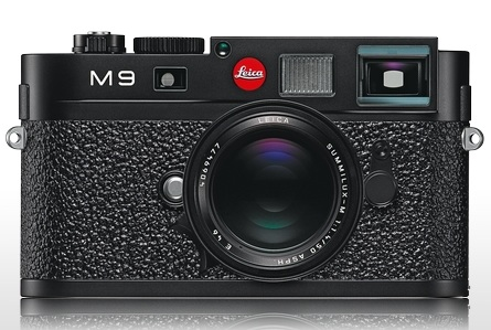 Leica M9 Full-Frame Digital Rangefinder Camera black vulkanit