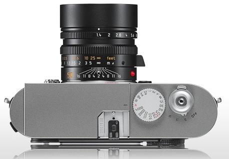 Leica M9 Full-Frame Digital Rangefinder Camera top