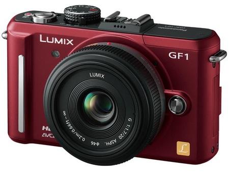 Panasonic Lumix DMC-GF1C-R compact DSLR
