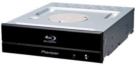 Pioneer BDR-S05J-BK - the First 12X Blu-ray Burner