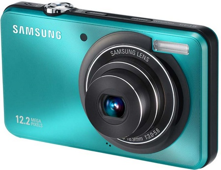 Samsung ST45 Slim Digital Camera blue