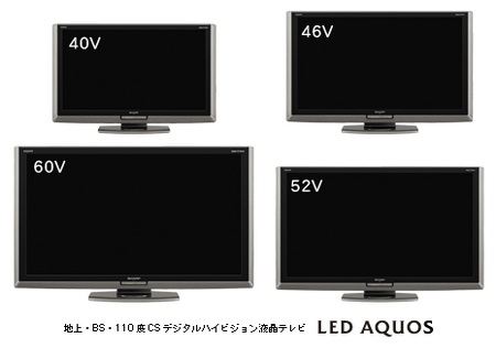 Sharp AQUOS LX1 Series White LED-backlit LCD HDTV