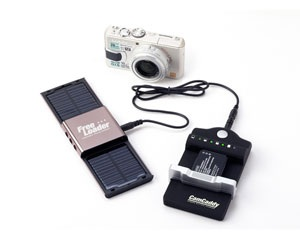 Solar Technology CamCaddy Universal Camera Battery Charger freeloader