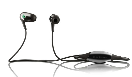 Sony Ericsson MH907 Motion Activated Headphones black