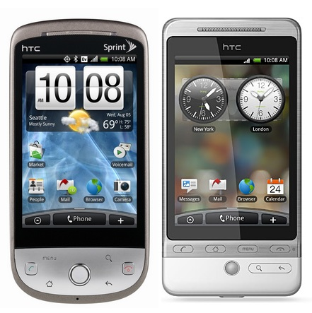 Sprint HTC Hero vs WCDMA HTC Hero
