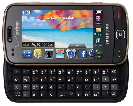 Verizon Samsung Rogue SCH-U960 keypad