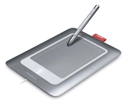 Wacom Bamboo Craft multitouch tablet