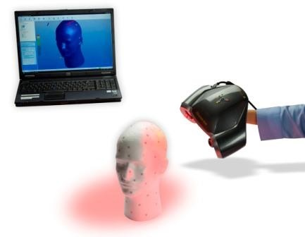 ZCorp ZScanner 600 Portable 3D Laser Scanner in use