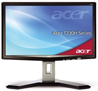 Acer T230H Multitouch LCD Display