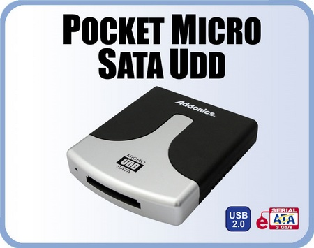 Addonic Pocket Micro SATA UDD