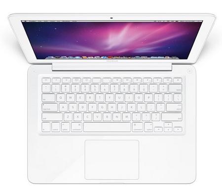 Apple MacBook Unibody  top