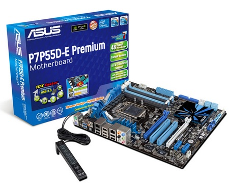 Asus Xtreme Design P7P55D-E Premium Motherboard with USB 3.0