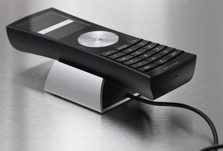 Bang & Olufsen BeoCom 5 Phone System on charger