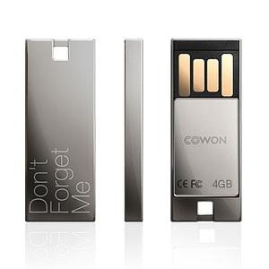 Cowon UM1 USB Flash Drive chrome black