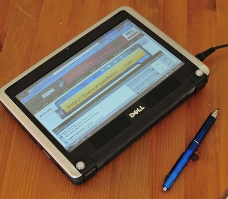 Dell Mini 9 Tablet Mod