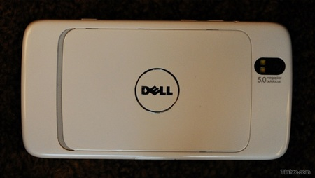 Dell Streak Android MID with 3G Leaked back