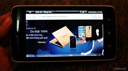 Dell Streak Android MID with 3G Leaked