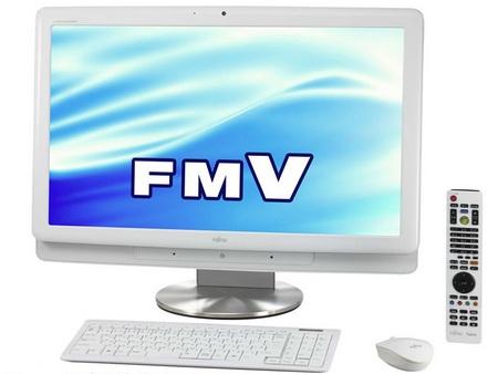 Fujitsu FMV-DeskPower all-in-one PC Windows 7 White