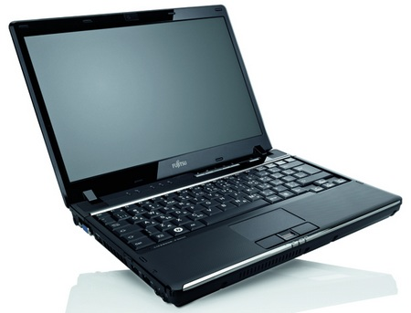 Fujitsu Lifebook P8110 Ultra portable Notebook front