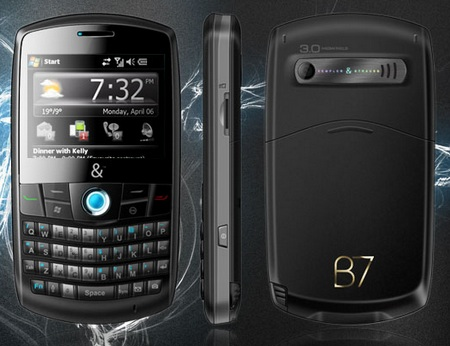 Kempler & Straus Billionair 7 QWERTY Phone
