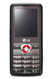 LG GM200 Mobile Phone with 2.1-channel speakers
