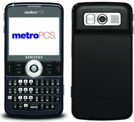 MetroPCS Samsung Code SCH-i220 WM QWERTY Phone