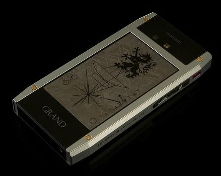 Mobiado Grand 350 Pioneer QWERTY Phone back