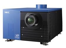 NEC NC1200C, NC2000C and NC3200S Digital Cinema Projectors