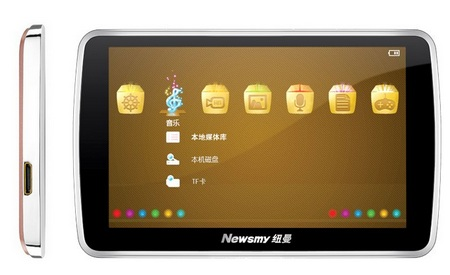 Newsmy A16HD PMP with HDMI Output