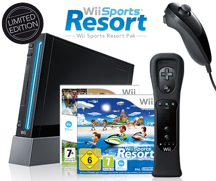 Nintendo Wii Black Limited Edition