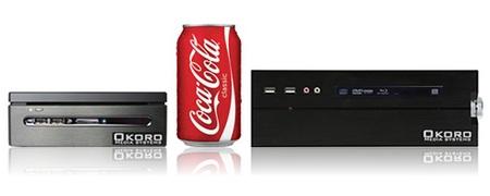 Okoro Quantum OMS-Q100 and OMS-Q200 Mini Media PCs