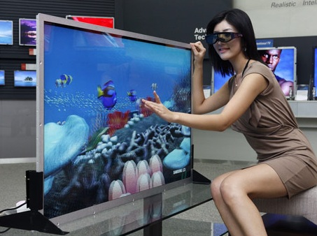 Samsung 55-inch 240Hz 3D LCD Display