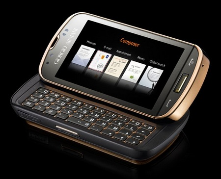 Samsung GIORGIO ARMANI Windows Mobile Smartphone composer