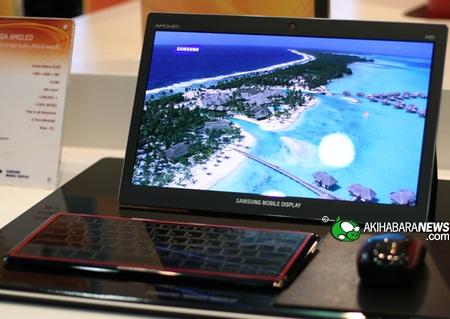 Samsung Hybrid Desktop Notebook AMOLED display
