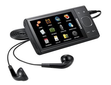 Samsung YP-CM3 Portable CMMB Mobile TV Black
